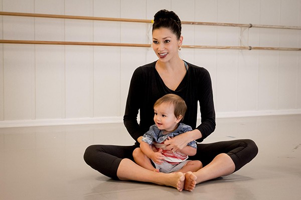 San Antonio Ballet School Baby and Me